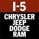 I-5 Chrysler Jeep Dodge Ram