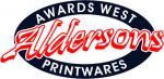 Alderson's Awards West Promotions-Printwares